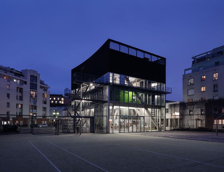 Bruther, Centro culturale e sportivo Saint-Blaise, Parigi, 2010-2014
